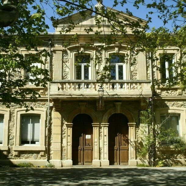 Town hall of Pouzols-Minervois